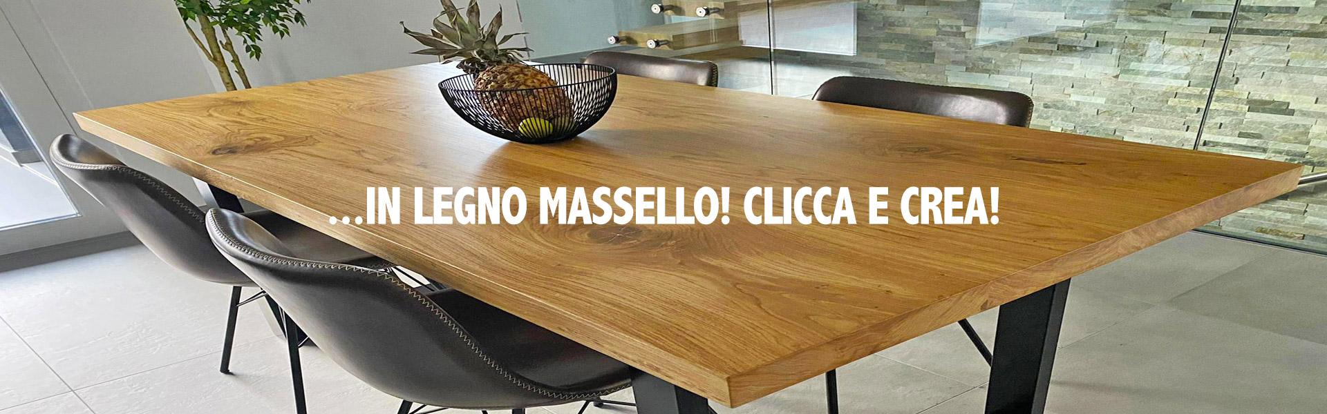 Verniciare Un Tavolo Di Legno tavoli su misura in legno massello | tavola legno massello